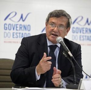 Secretário de desenvolvimento econômico do RN, Benito Gama