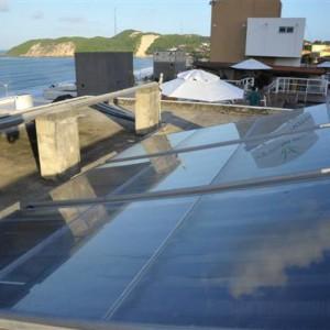 Apesar da queda dos custos, a energia solar ainda é 50 por cento mais cara do que a eólica.