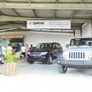 Evento também expôs carros de luxo, da PGPrime