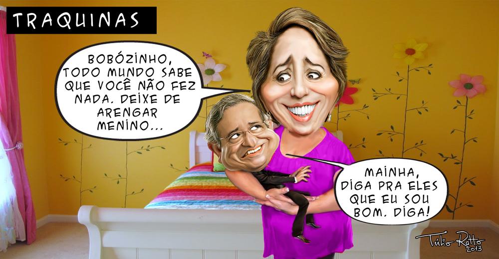 charge de Tulio ratto sobre mimimi de Benito Gama