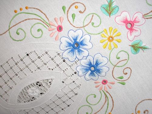 Os tradicionais bordados de Caicó, impulsionam economia local. (Foto: blog Robson Pires)