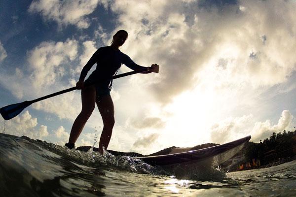 Esporte une contato com a natureza, diversão e saúde e foi eleito a melhor opção para se exercitar neste verão. (Foto: Vlademir Alexandre)