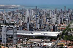 Área residencial e comercial em Natal: Enquanto Guamaré cresce, repasses à capital perdem força. (Foto: Vinícius Menna)