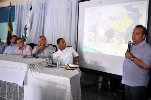 Comissão especial apresentou projeto em Porto do Mangue (Foto: Alberto Leandro)