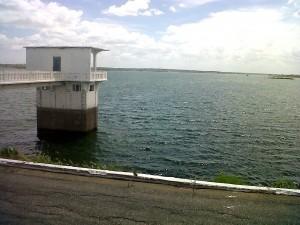 Açude Itans, segundo maior reservatório de água do Seridó. (Foto: glaucialima.com)