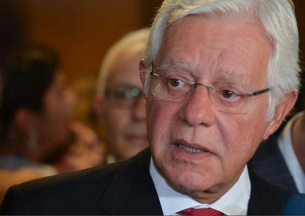 Ministro da Secretaria Nacional de Aeroportos, Moreira Franco. (Foto: agenciat1.com.br)