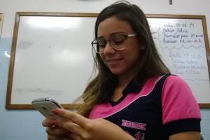 Maria Clara Dantas, 16, estudante. (Foto; daisa alves,joana lima e vlademir alexandre)