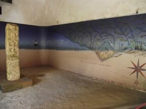 Monumento está abrigado na Fortaleza dos Reis Magos, em Natal. (Foto:aulasprofgilberto.blogspot.com )