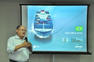 Pedro Terceiro falou sobre andamento da expansão do Porto (Foto: Wellington Rocha)