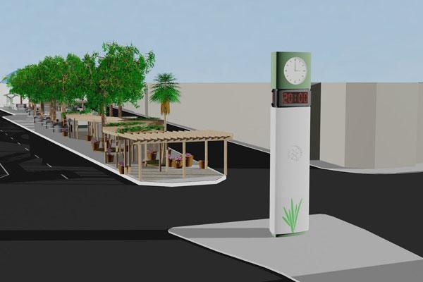 Projeto de R$ 25 milhões para relocação de camelódromo, arborização do bairro e um novo relógio. (Foto: Divulgação)