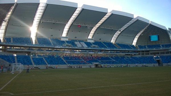 Arena das Dunas possui espaço para receber eventos com até 40 mil pessoas. (Foto: Magnus Nascimento)