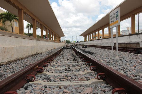 Modernização prevê desmembramento das linha Norte e Sul. (Foto: Rayane Maynara)