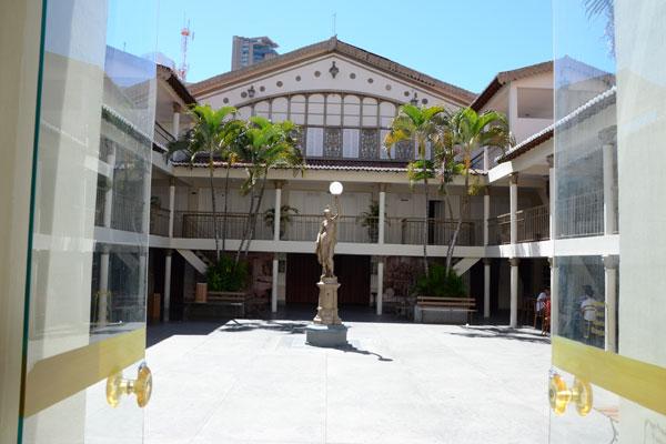Teatro Alberto Maranhão completa 110 anos nesta segunda-feira. (Foto: Adriano Abreu)