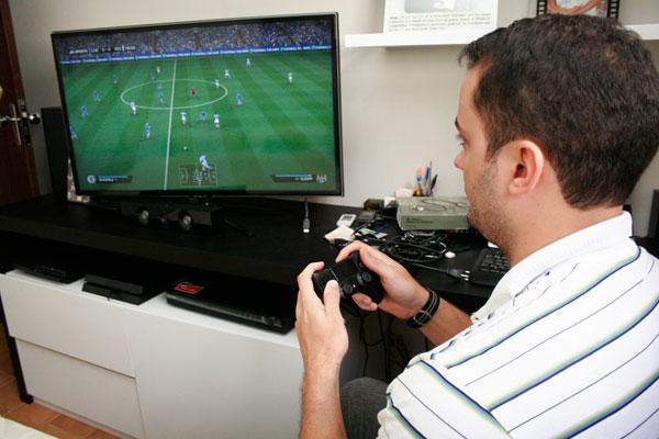No preço de aparelhos como Videogame, 72% é carga tributária. (Foto: Emanuel Amaral)