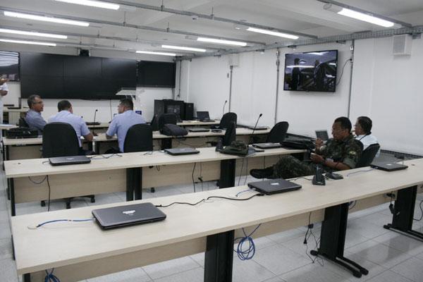 Centro de Coordenação de Defesa de Área no 3º Distrito Naval. (Foto: Emanuel Amaral)