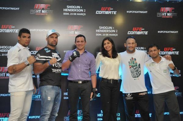 Evento do UFC já havia sido oficializado em Natal no mês passado (Foto: Alberto Leandro)