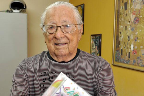 """Compositor Cladomiro Batista de Oliveira, o """"Dosinho"""". (Foto: tribunadonorte.com.br )"""