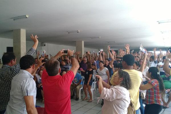 Uma nova assembleia foi marcada para a próxima sexta-feira (21). (Foto: www.jbelmont.com.br)