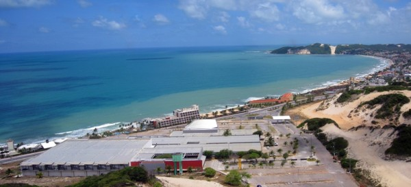 Localização do Centro de Convenções de Natal é privilegiada.por contemplar litoral da cidade. (Foto: Tribuna do Norte)