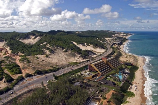 Empreendimento sustentável deverá ser construído na Via Costeira. Projeto prevê espaço para 450 embarcações de 8 a 15 metros (Foto:vivernatal.wordpress.com)