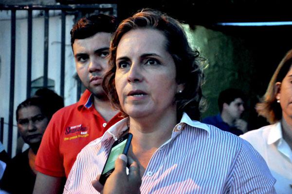 Cláudia Regina tem apoio de Rosalba e da cúpula do DEM. (Foto: Carlos Costa)
