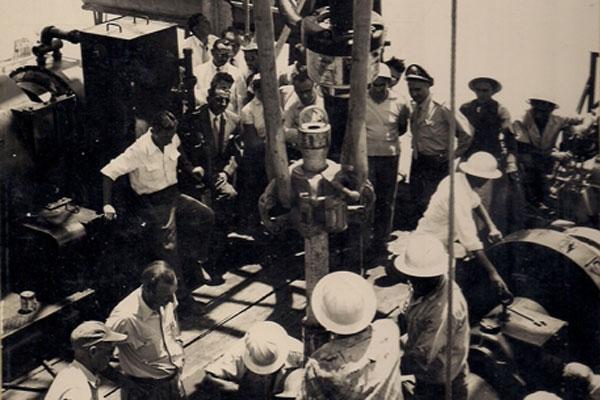 Primeiro poço perfurado no Rio Grande do Norte pela Petrobras, em 1956, na localidade Gangorra, em Grossos: Expectativas. (Foto: cedida)
