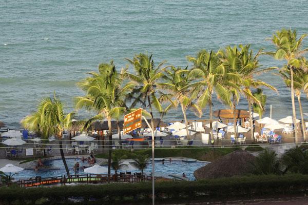 Taxa de ocupação dos hotéis nos principais corredores turísticos do Rio Grande do Norte deve ficar acima dos 80% no feriadão. (Foto: Alex Regis)