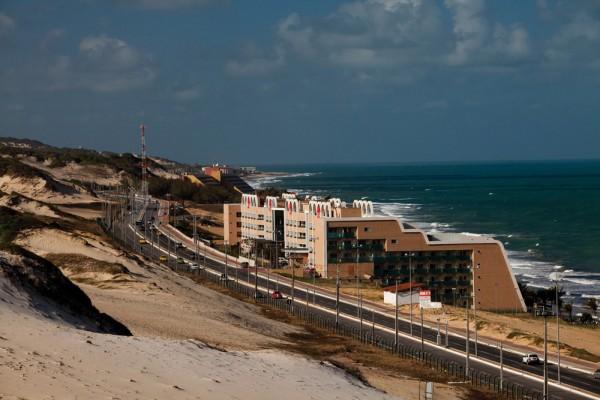 Trecho da Via costeira em Natal. (Foto: Canindé Soares)