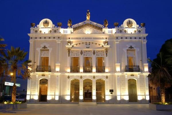 Teatro Alberto Maranhão. (Foto; divulgação)