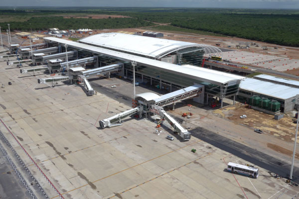 Início da operação do novo aeroporto está previsto para 22 de maio. (Foto: cedida)