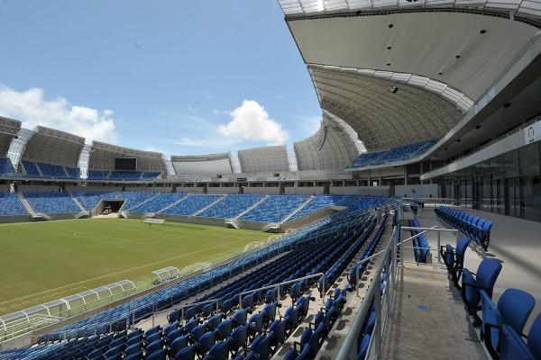 Administração do estádio será responsabilidade da Fifa a partir desta quarta (Foto: Alberto Leandro)