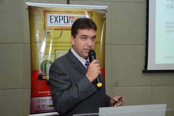 Renato afirma que as frutas produzidas no RN são apreciadas pelas regiões Centro-Oeste e Sudeste (Foto: Alcivan Costa/Divulgação)