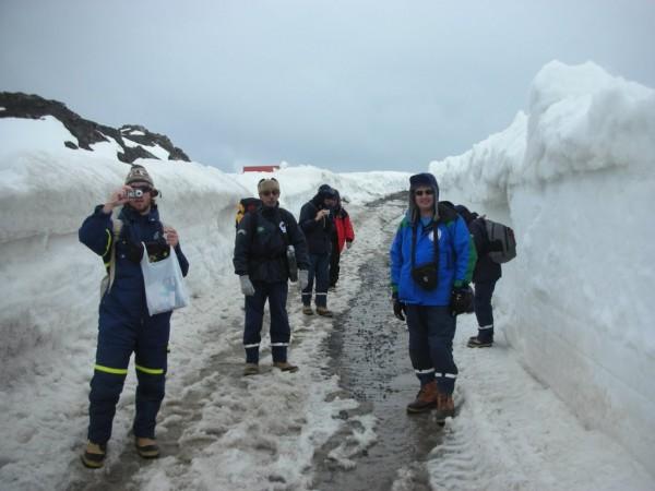 Pesquisadores Escola de Ciências e Tecnologia da UFRN devem ir à Antártica em 2016 para conduzir estudos. (Foto: José Henrique Fernandez)
