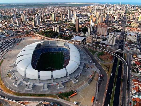 Arena das Dunas, em Natal, receberá quatro jogos durante o Mundial (Foto: Canindé Soares/Secom/RN)