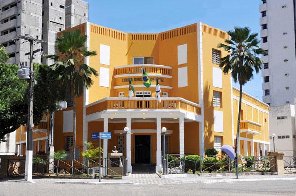 Sede câmara Municipal de Natal. (Foto: www.blogdoserido.com.br)