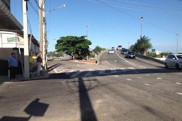 Colisões já ocorreram no local (Foto: Saulo de Castro)