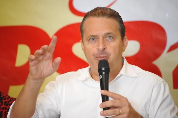 Eduardo Campos chega na sexta-feira (10) (Foto: Alberto Leandro)