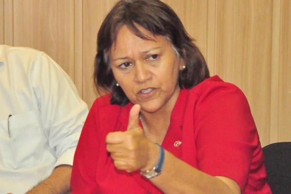 Fátima Bezerra é candidata ao Senado