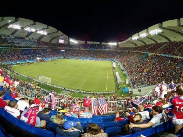 Arena das Dunas, em Natal, recebeu quatro partidas da Copa do Mundo (Foto: Rodrigo Sousa/G1)