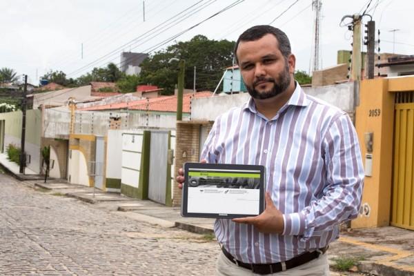 Dispositivo fornece informações em tempo real para autoridades de saúde do município. (Foto: Anastácia Vaz)