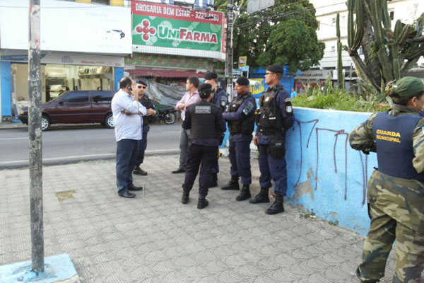 Em Natal, dois locais já estão previstos para ter postos de segurança da Guarda Municipal. Um deles é a Praça Gentil Ferreira, no Alecrim. (Foto: Assessoria)