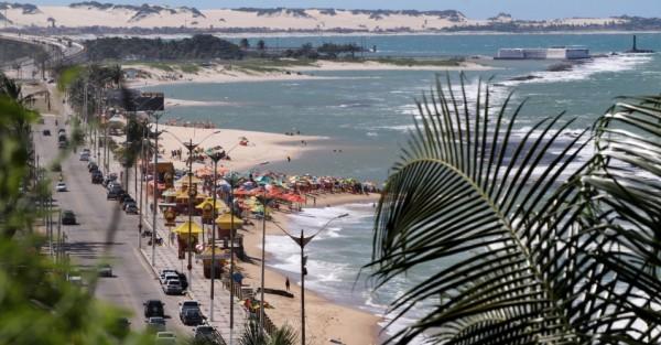 Orla de Natal (RN): praia do Meio, praia do Forte e Redinha. (Foto: viagem.uol.com.br)