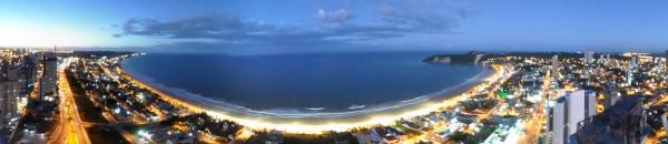 Panorâmca da praia de Ponta Negra. (Foto: www.nataldunnas.com.br)