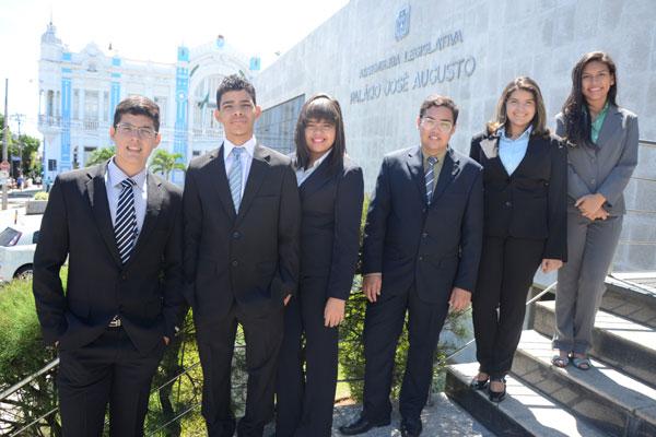 Os jovens foram escolhidos em eleições ocorridas em escolas públicas e privadas do Rio Grande do Norte. (Foto: Frankie Marcone)