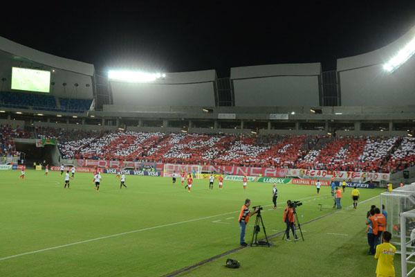 Torcida do América pode dar o troco já que terá o Flamengo na próxima rodada. (Foto; Adriano Abreu)