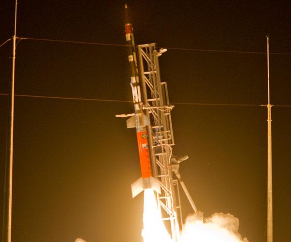Foguete com aeroGPS foi lançado na segunda, em Alcântara. (Foto: divulgação)