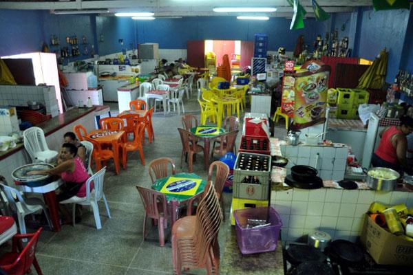 Recuperação do Mercado da Redinha é uma das estruturas que estão passando por reforma em Natal. (Foto:  João Maria Alves)
