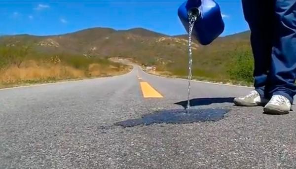 Professor fez alguns testes para provar que tudo é uma questão de ilusão de ótica (Foto: Reprodução/Inter TV Cabugi)