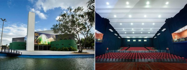 Teatro será inaugurado com uma solenidade às 19h30, na qual participarão autoridades e artistas como Titina Medeiros, Lourdes Ramalho e Isaque Galvão. (Foto: assessoria)