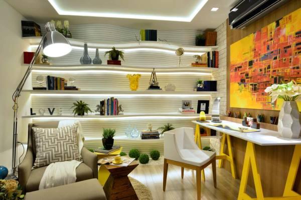 Em Natal, os ambientes da mostra foram divididos em duas alas: residencial e empresarial (Fato: casa.abril.com.br)